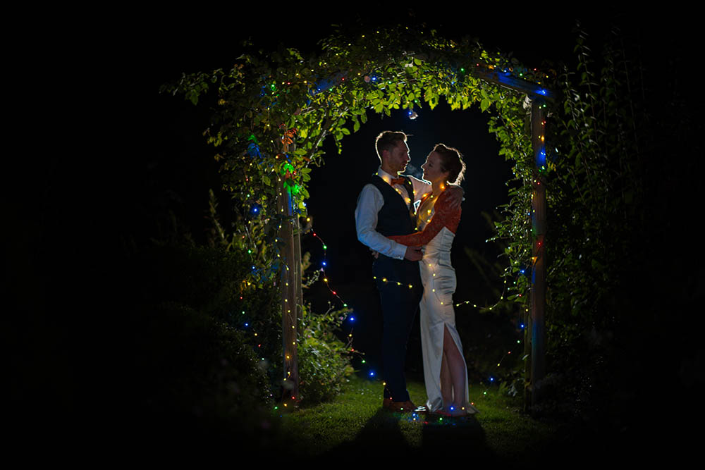 Garden weddings at Thurning Hall